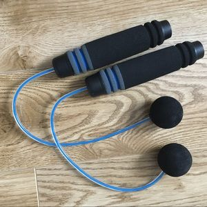 NEW❤️FITNESS Weighted, Cordless Jump Rope